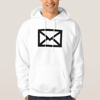 Mail envelope hooded sweatshirts
