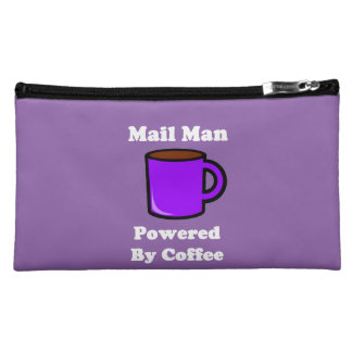 """""""Mail Man"""" Powered by Coffee Makeup Bag"""
