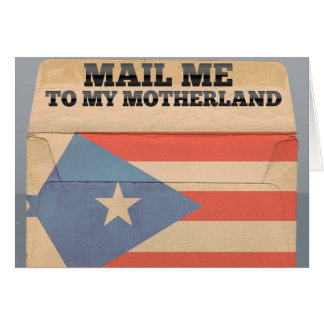 Mail me to Puerto Rico Note Card