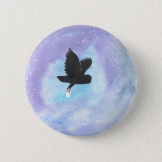 Mail Owl 6 Cm Round Badge