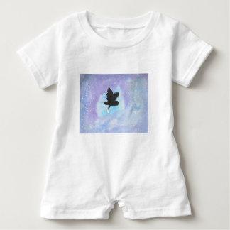 Mail Owl Baby Bodysuit