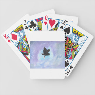 Mail Owl Bicycle Playing Cards
