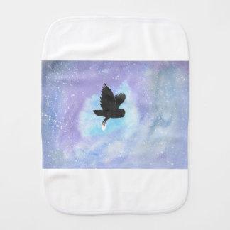 Mail Owl Burp Cloth
