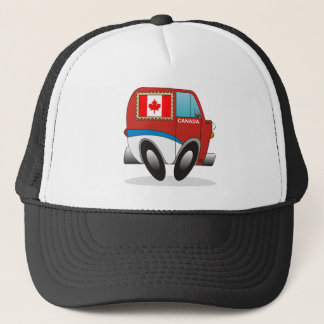 Mail Truck Canada Trucker Hat