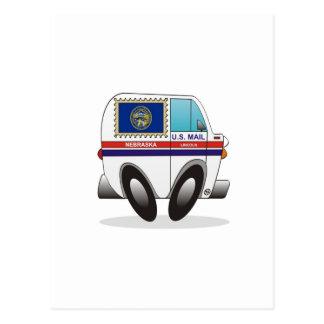 Mail Truck NEBRASKA Postcard