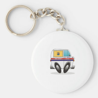 Mail Truck NEW JERSEY Key Ring