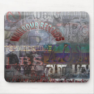 Mailbomb Records Artist's Mousepad