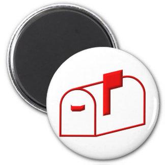 Mailbox 6 Cm Round Magnet