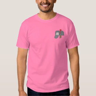 Mailbox Embroidered T-Shirt