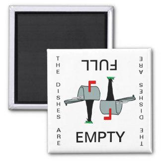 Mailbox Empty Full Dishwasher Magnet