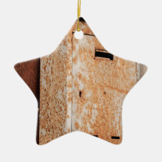 Mailbox rusty outdoors ceramic ornament