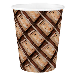 Mailbox rusty outdoors paper cup