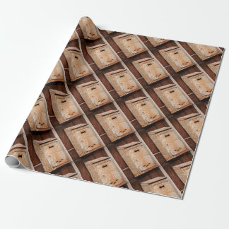 Mailbox rusty outdoors wrapping paper