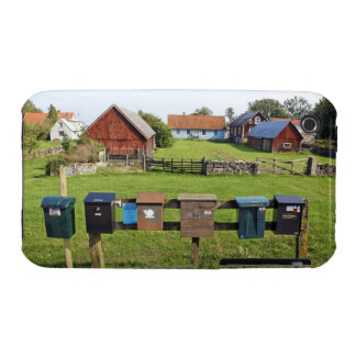 Mailboxes and Houses iPhone 3 Covers