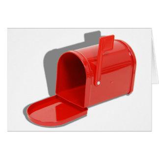 MailboxOpen051409shadows Greeting Card