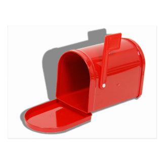 MailboxOpen051409shadows Postcard