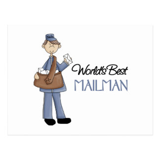Mailman Gift Postcard