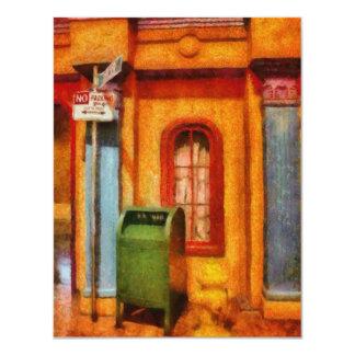 Mailman - No Parking 11 Cm X 14 Cm Invitation Card
