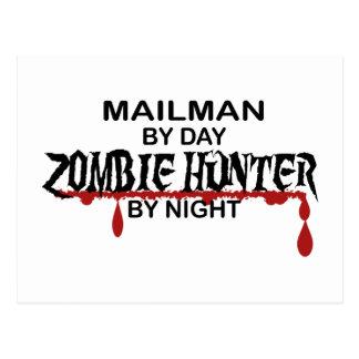Mailman Zombie Hunter Postcard