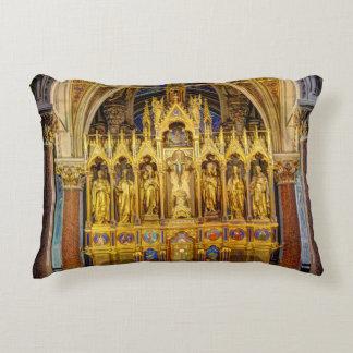 Main Altar In Votivkirche, Vienna Austria Decorative Cushion