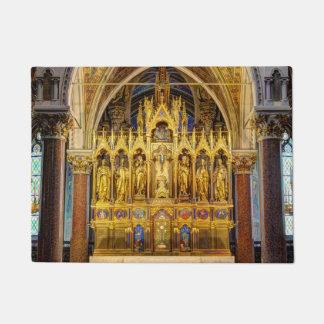 Main Altar In Votivkirche, Vienna Austria Doormat