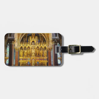 Main Altar In Votivkirche, Vienna Austria Luggage Tag