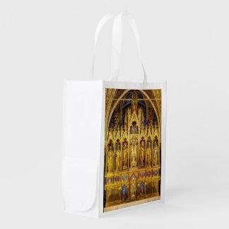 Main Altar In Votivkirche, Vienna Austria Reusable Grocery Bag