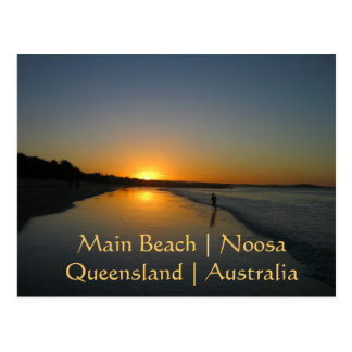 Main Beach, Noosa, Queensland, Australia postcard
