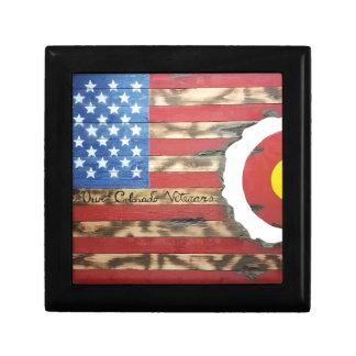 Main_Colorado_Veterans Small Square Gift Box