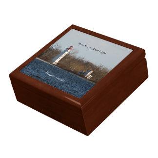 Main Duck Island Lighthouse keepsake box