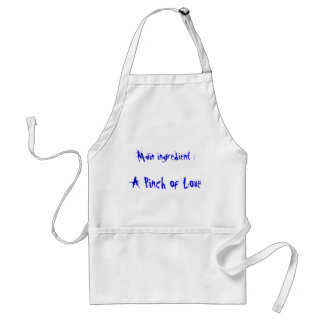 Main ingredient :, A Pinch of Love Adult Apron