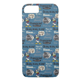Main Mickey Shorts | Donald Duck Blue Pattern iPhone 8/7 Case