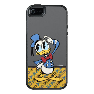 Main Mickey Shorts | Donald Thinking OtterBox iPhone 5/5s/SE Case
