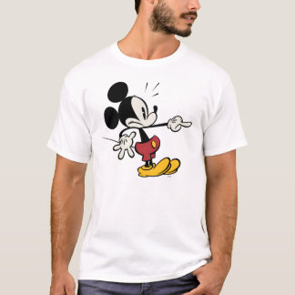 Main Mickey Shorts | Mickey Pointing Out T-Shirt