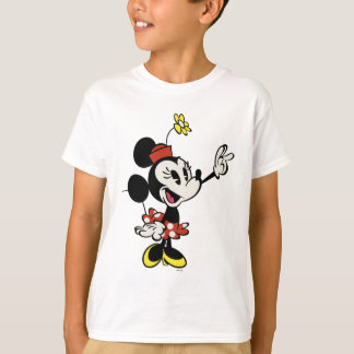 Main Mickey Shorts   Minnie Hand Up T-Shirt