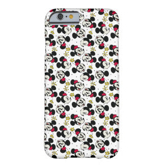 Main Mickey Shorts | Minnie Head Pattern Barely There iPhone 6 Case