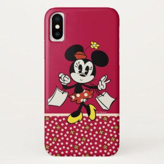 Main Mickey Shorts | Minnie Shopping iPhone X Case