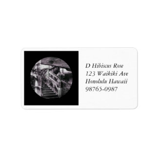 Main Ornate Stairwell D Deck Address Label