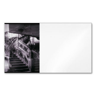 Main Ornate Stairwell D Deck Magnetic Business Cards