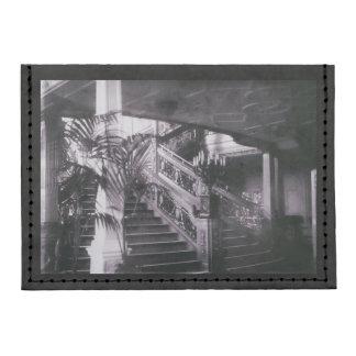 Main Ornate Stairwell D Deck Tyvek® Card Case Wallet