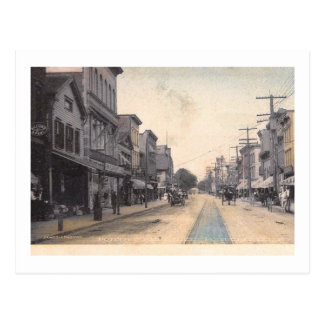 Main St., Port Chester, New York Vintage Postcard