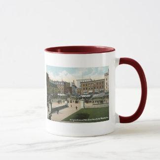 Main St., Worcester, MA 1910 Vintage Mug