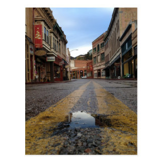 Main Street Bisbee Postcard