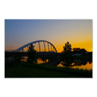 Main Street Bridge, Columbus, Ohio Poster