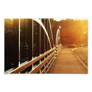 Main street bridge Niles, Mich photo print