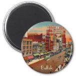 Main Street - Buffalo, NY Vintage Magnet