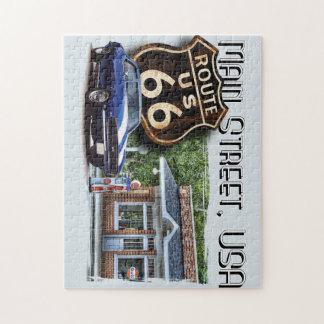 Main Street Camaro Jigsaw Puzzle