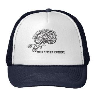 Main Street Cruzers-Garage Punk Music Brain Hat
