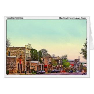 Main Street, Fredericksburg, TX Card