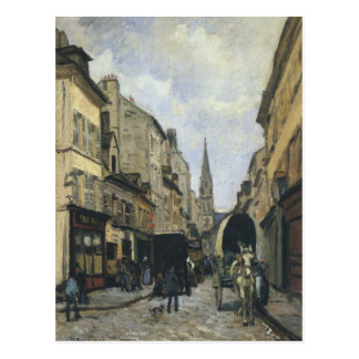 Main Street in Argenteuil by Alfred Sisley Postcard